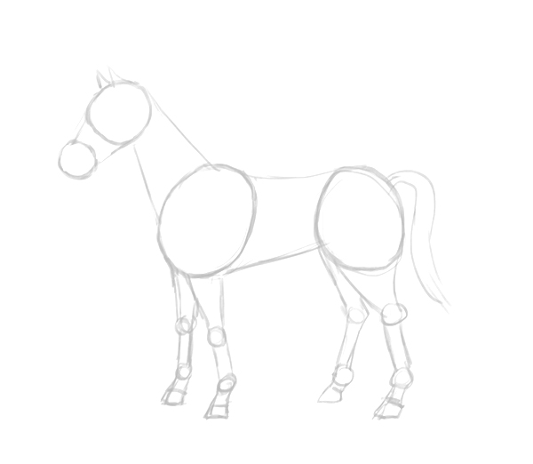 How to draw a horse | The Story Elves - Help with writing, editing, illustrating and designing your own stories