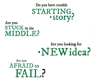 Do you have trouble starting a story? Are you stuck in the middle of a story? Are you afraid to fail? Newcomers write this way!