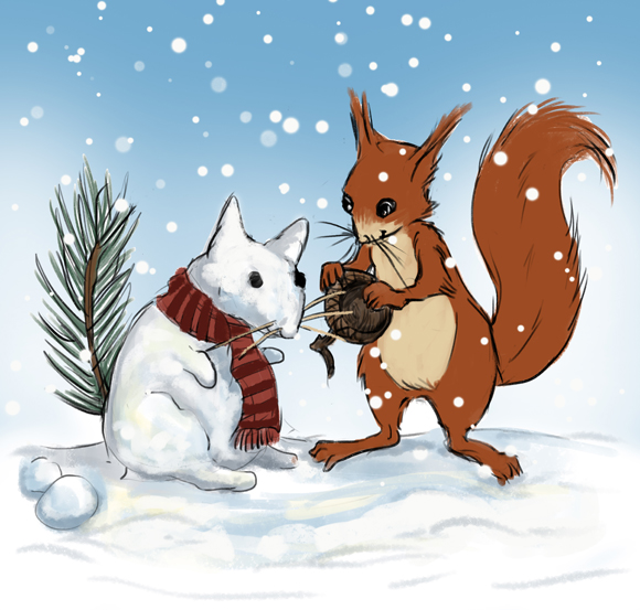 story_elves_squirrel_snow_color_web