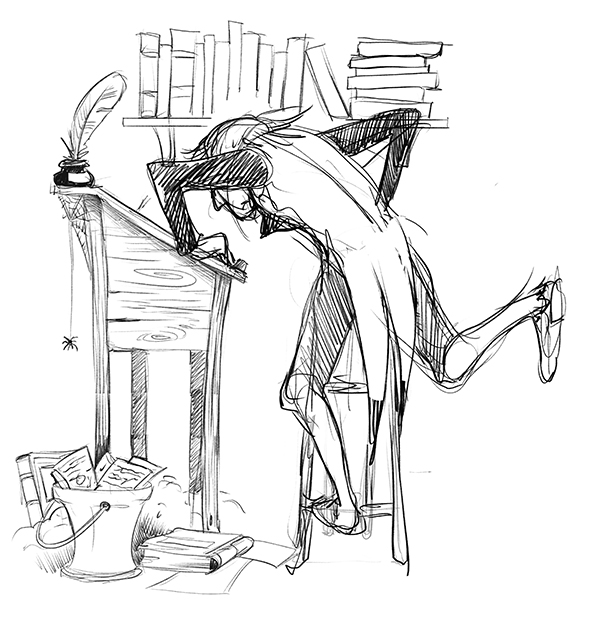 Christmas Carol Scrooge Drawing.Christmas Eve In Scrooge S Counting House The Story Elves